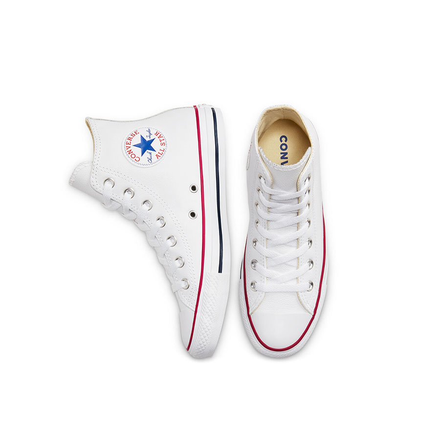 CHUCK LEATHER WHITE